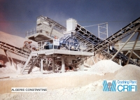 Fixed sand production installation 100 T/h - ALGERIA
