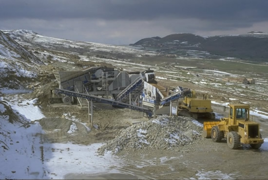 Mobile crushing and selection plant - ITALY