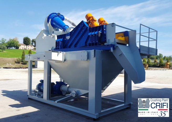 SAND RECOVERY CRS HYDROCYCLONES SYS